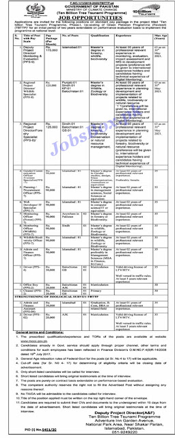 ministry-of-climate-change-jobs-2021-application-form-download