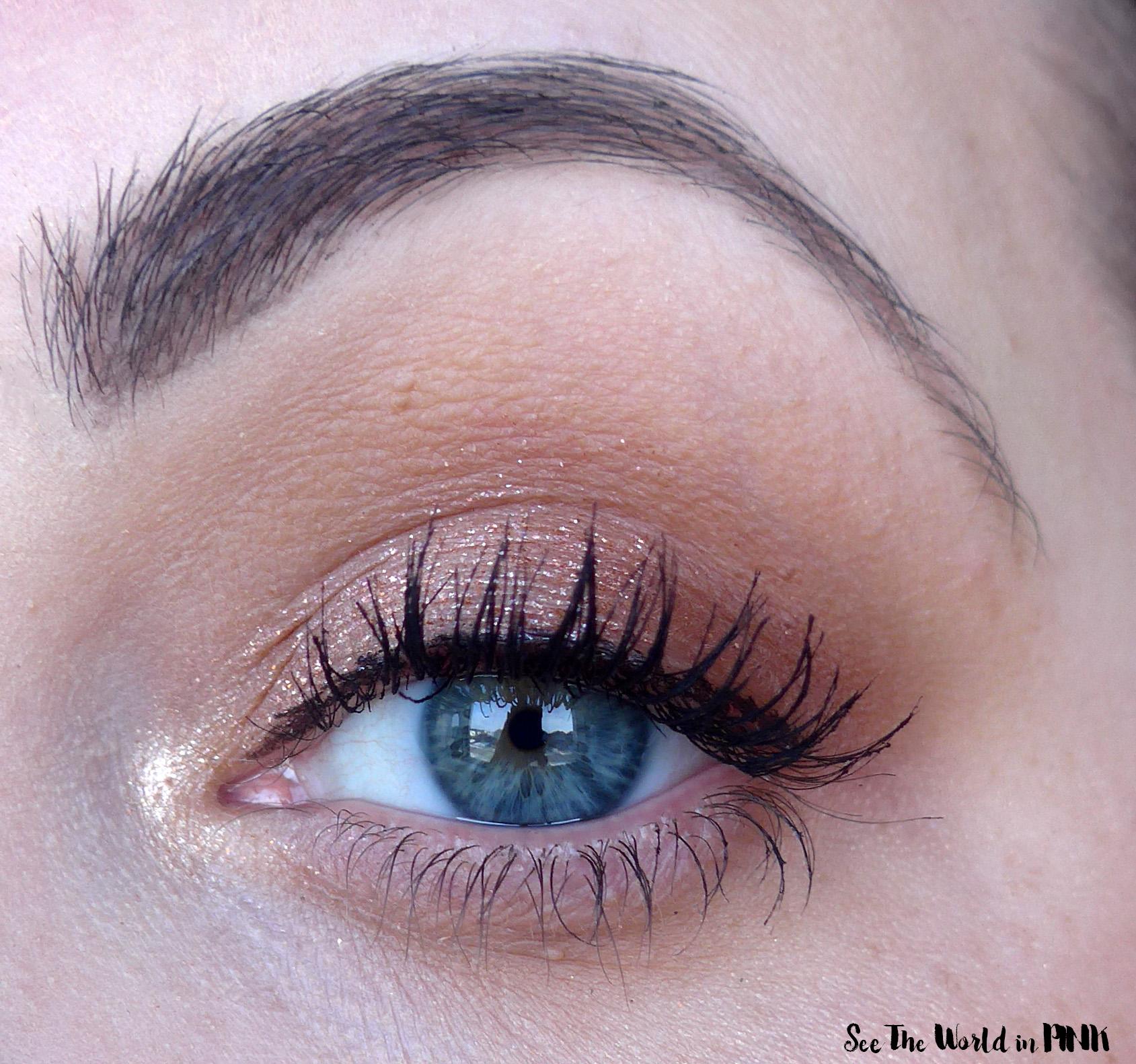 Nabla Side by Side Eyeshadow Palette, Ruby Lights Glitter Quad, Major Pleasure Mascara and Ruby Brush Set
