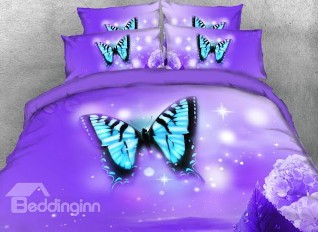 Beddinginn butterfly bedding