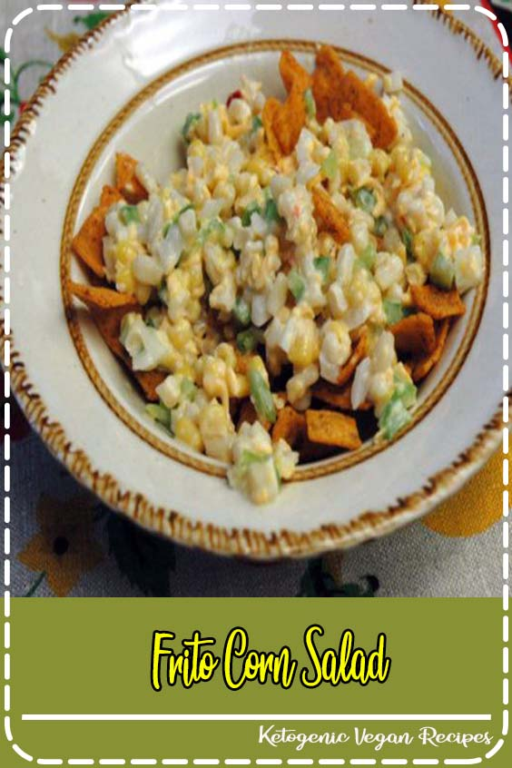 add a little taco seasoning to miracle whip Frito Corn Salad