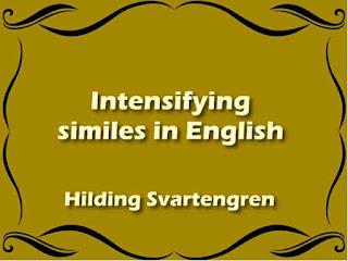 Intensifying similes in English