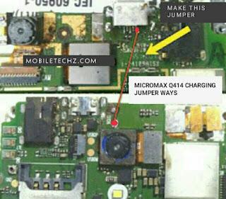 Micromax-Q414-Charging-Ways-Problem-Jumper-Solution