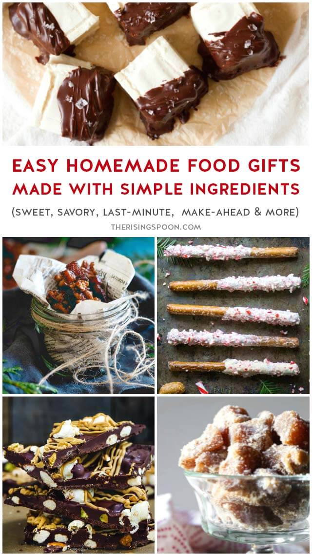 70 Homemade Christmas Food Gifts Using Simple Ingredients The Rising Spoon