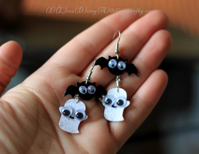 Cute Spooky DIY Halloween Earrings | SVGCuts