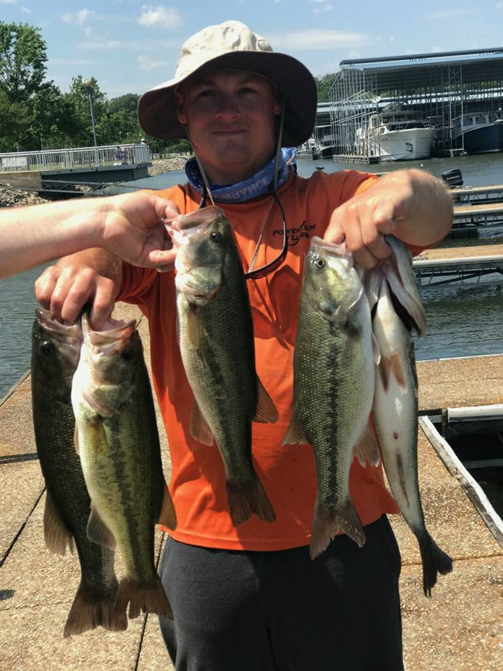 Best5zach outdoors fishing report pickwick 5 4 17 for Pickwick fishing report