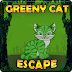 Games2Jolly - Greeny Cat Escape