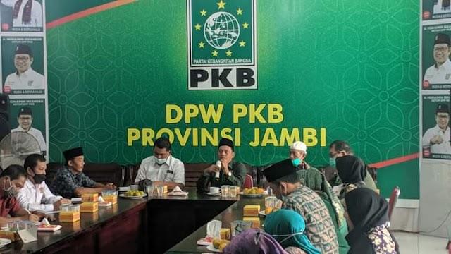Usai Muswil, DPW PKB Jambi Gelar Rapat Internal