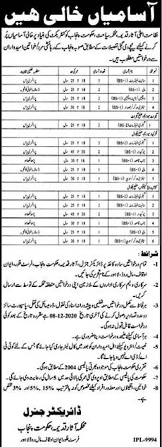 punjab-archeology-department-jobs-2020-application-form
