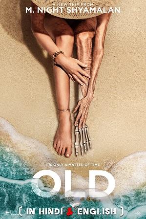 Old (2021) 350MB Full Hindi (CAM Audio) Dual Audio Movie Download 480p Web-DL