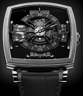 Montre MCT Sequential One S110 Evo Vantablack par Anish Kapoor