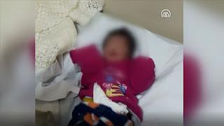 اسطنبول..عمال النظافة يجدون طفل حديث الولادة في شاحنة القمامة (فيديو)