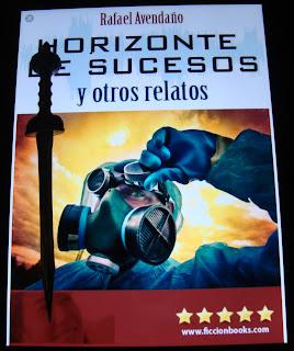 Portada del libro Horizonte de sucesos y otros relatos, de Rafael Avendaño