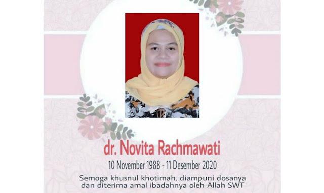 Innalillahi, Kena Covid-19 Saat Hamil 7 Bulan, dr Novita Rachmawati dan Janinnya Meninggal Dunia