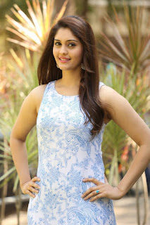 Actress Surabhi Latest Picture Gallery in Floral Dress  0001