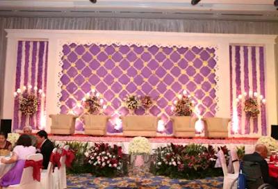 dekorasi pernikahan cantik