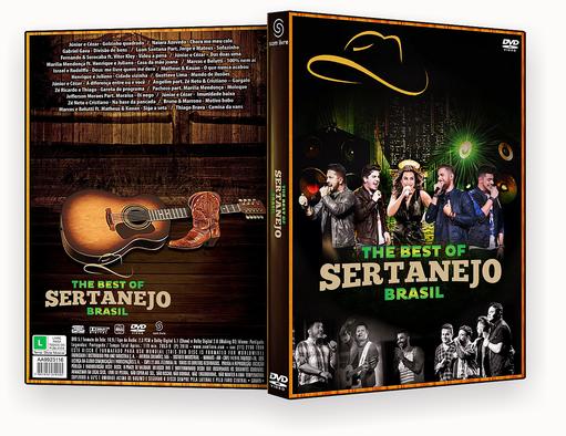 CAPA DVD – The Best Of Sertanejo Brasil DVD-R