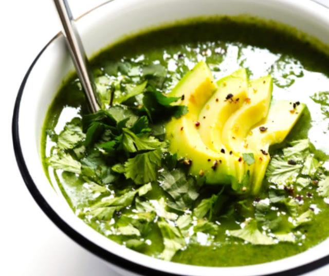 Delicious Green Goddess Soup