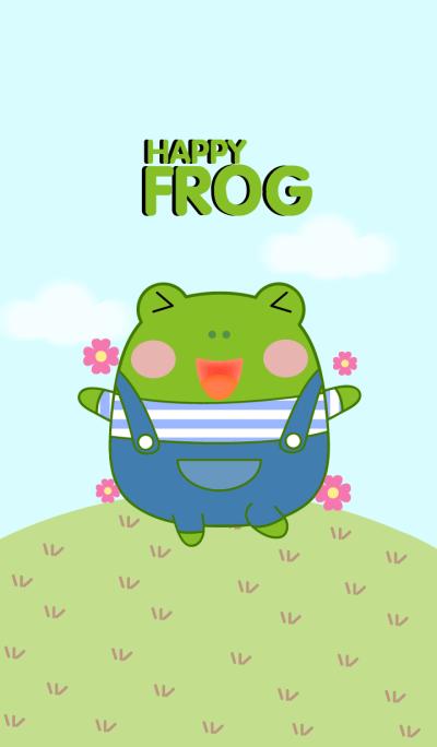 Cute Happy Frog Theme