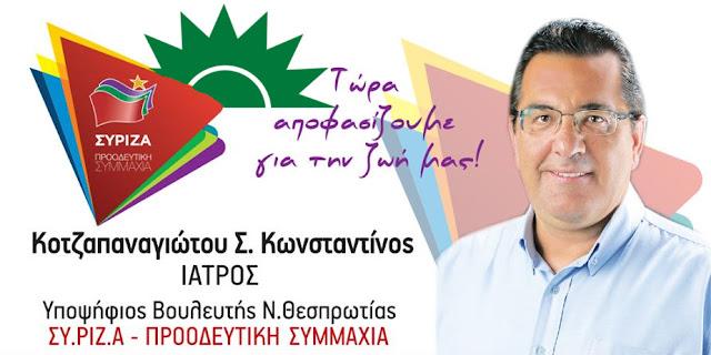 Απαντάει με απειλές ο υποψήφιος του ΣΥΡΙΖΑ