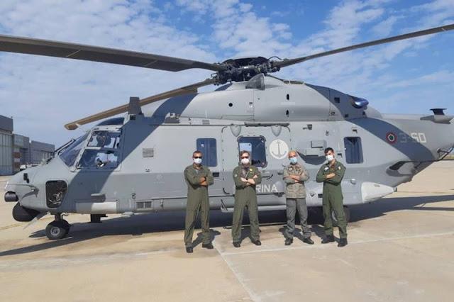 Italian Navy receives NH90 MITT