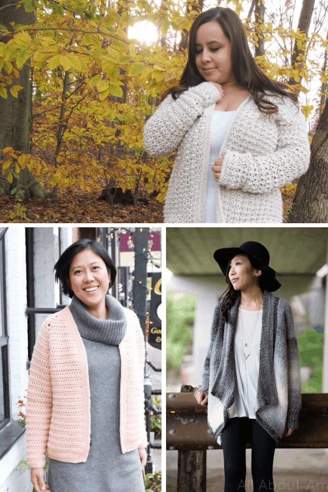 Crochet Cardigan Ideas