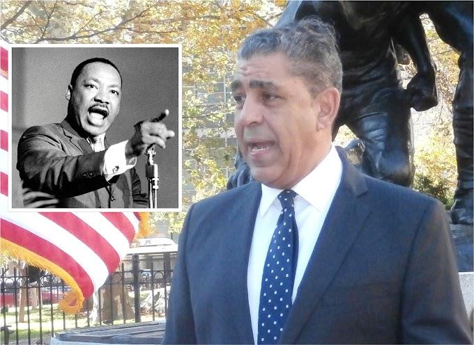 Espaillat encabezará evento anual en memoria de Martin Luther King Junior este viernes 18 de enero