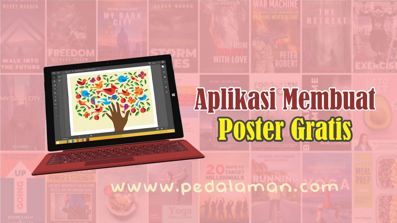 Aplikasi membuat poster gratis