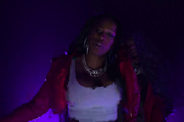 Papoose And Remy Ma Perform URL Freestyle