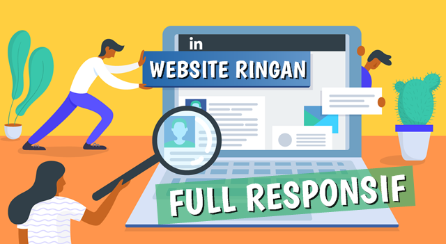 Jasa Pembuatan Website Ringan Full Responsif Mobile Friendly