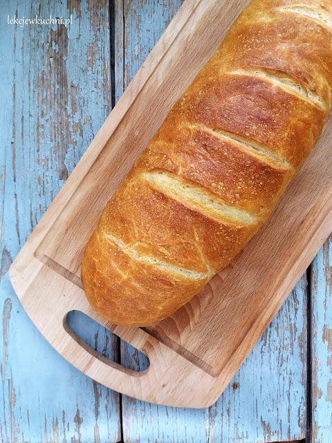 Pszenny chleb drożdżowy z wodą z gotowania ziemniaków przepis