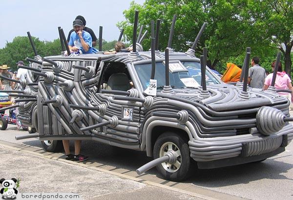 Tubular Car