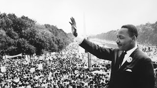 Image of Martin Luther King, Jr in Washington D.C.