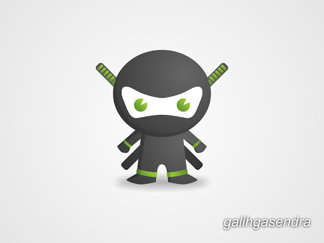 CorelDraw Tutorial Little Cute Ninja