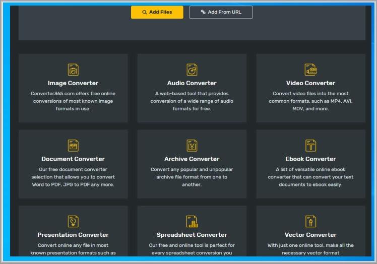 Free online converter  : Κορυφαίος δωρεάν online μετατροπέας για περισσότερα από 1000 formats