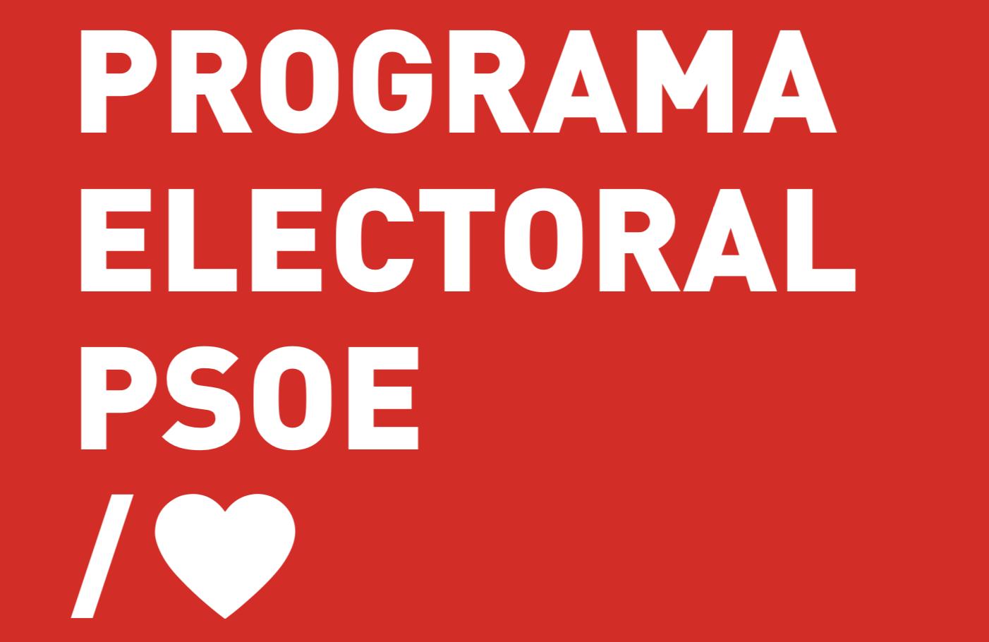 Programa Elecciones Generales 2019
