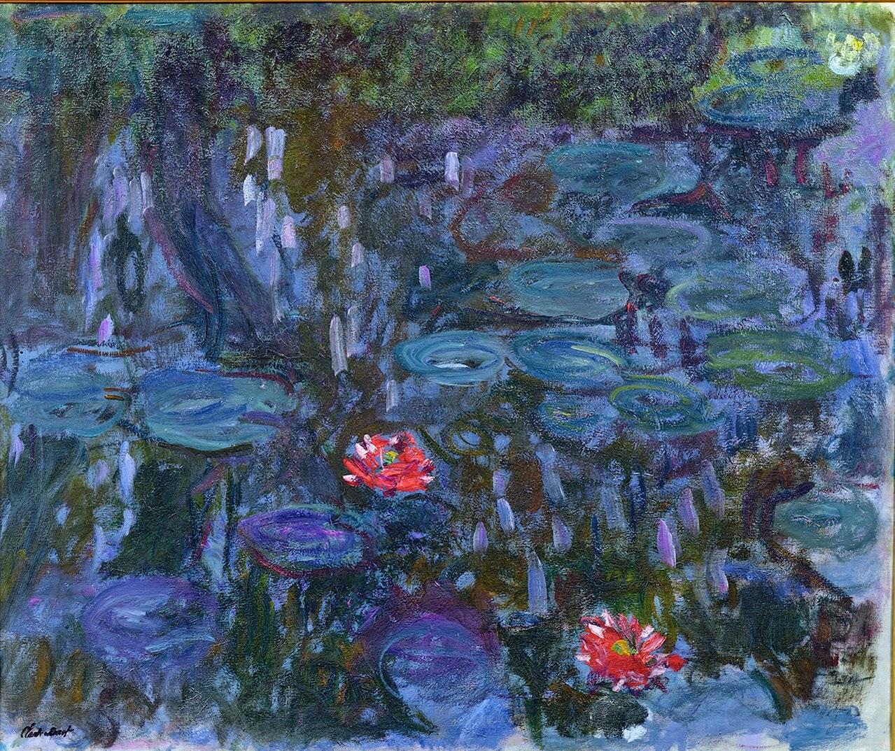Claude Monet, Ninfee e riflessi del salice