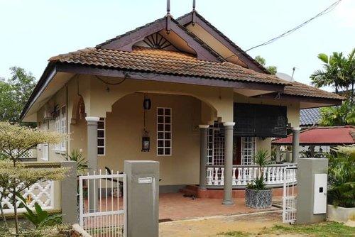 Homestay Terengganu Bebudak Carl Banglo Berkonsep Sederhana Mewah