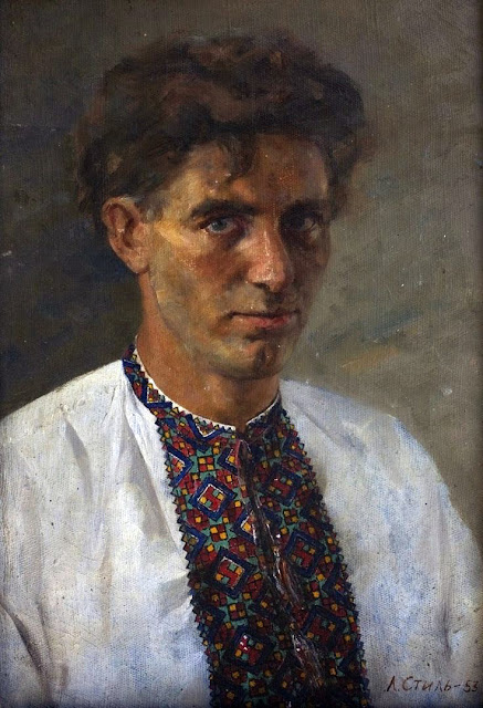 Leonid Mikhailovich Steele, Portraits of Painters, Self Portraits, Fine arts, Alexey Steele