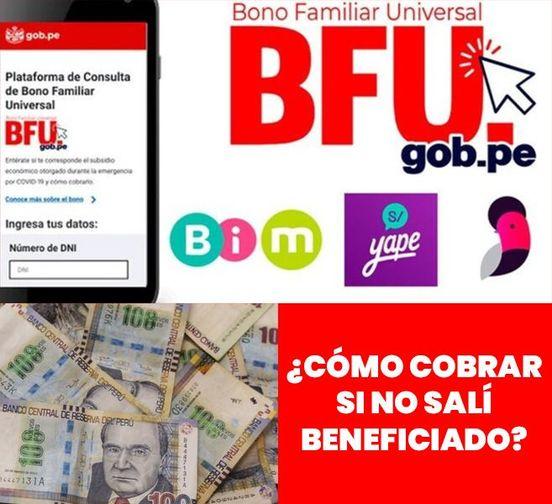 ATENCIÓN: Descubre Cómo Cobrar El BONO FAMILIAR DE 760 SOLES Si Estas Registrado Y No Saliste BENEFICIADO