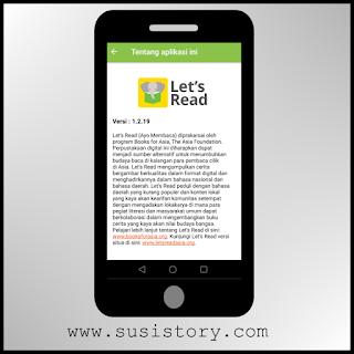 minat baca anak, budaya membaca, membaca menyenangkan, let's read indonesia, download aplikasi let's read