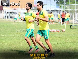 Julio César Pérez y Sebastián Gamarra trabajan para recuperarse de sus lesiones - Oriente Petrolero - DaleOoo