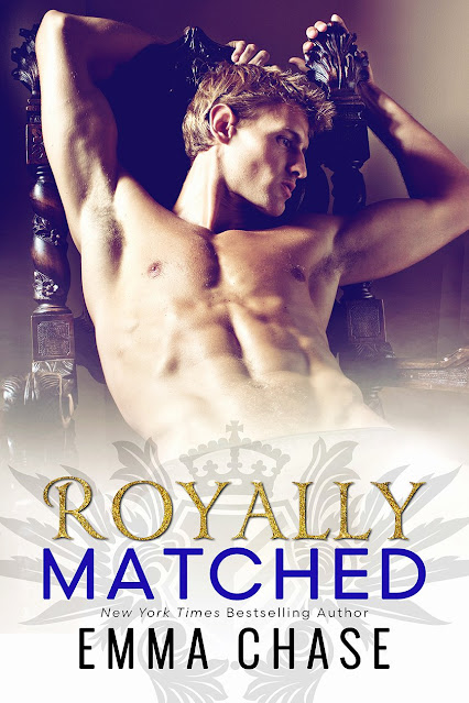 ROYALLY MATCHED BOOK COVER
