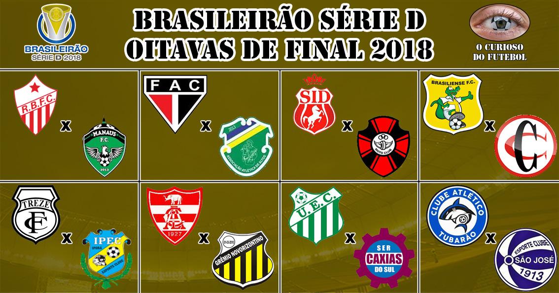 Brasileirao Serie D Agora Sao As Oitavas O Curioso Do Futebol