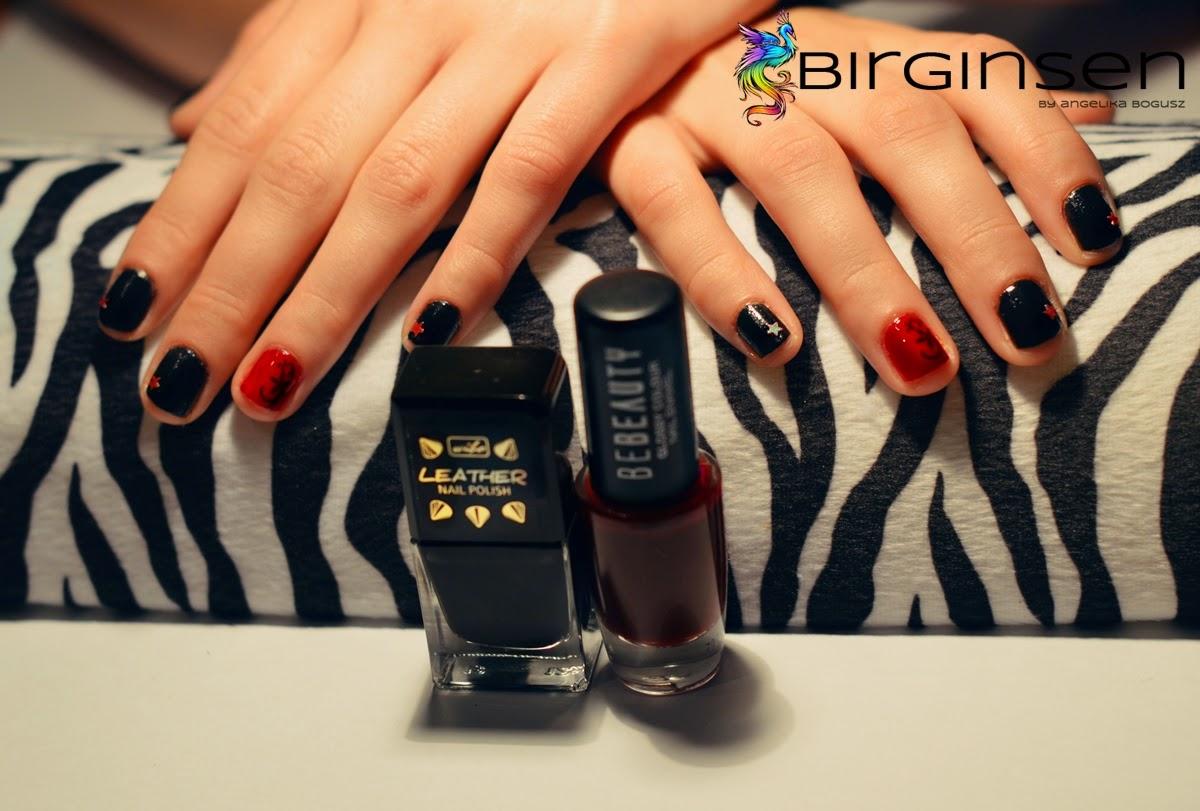 rockowe manicure