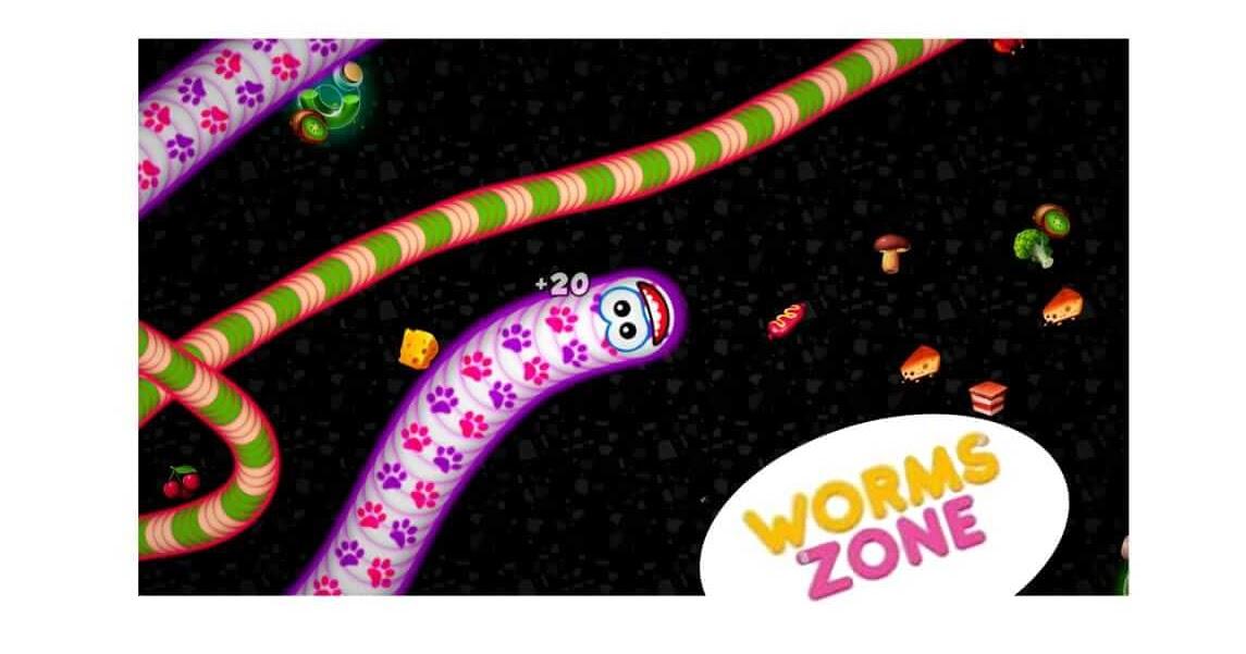 لعبة worms zone مهكرة اخر اصدار