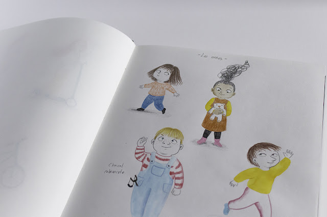 Personajes, niños, ilustración infantil, procesos de trabajo, ilustración de niños, diseño de personajes, niños, nenes, infantil,
