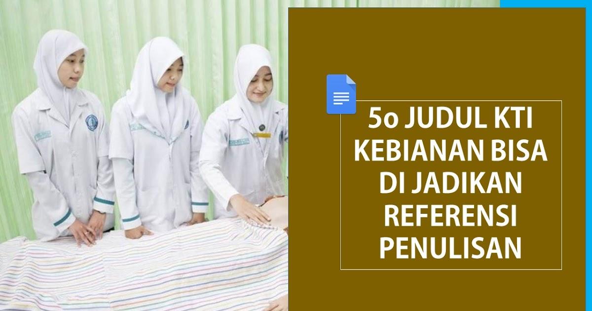 50 Judul Kti Kebidanan Terupdate Black Script