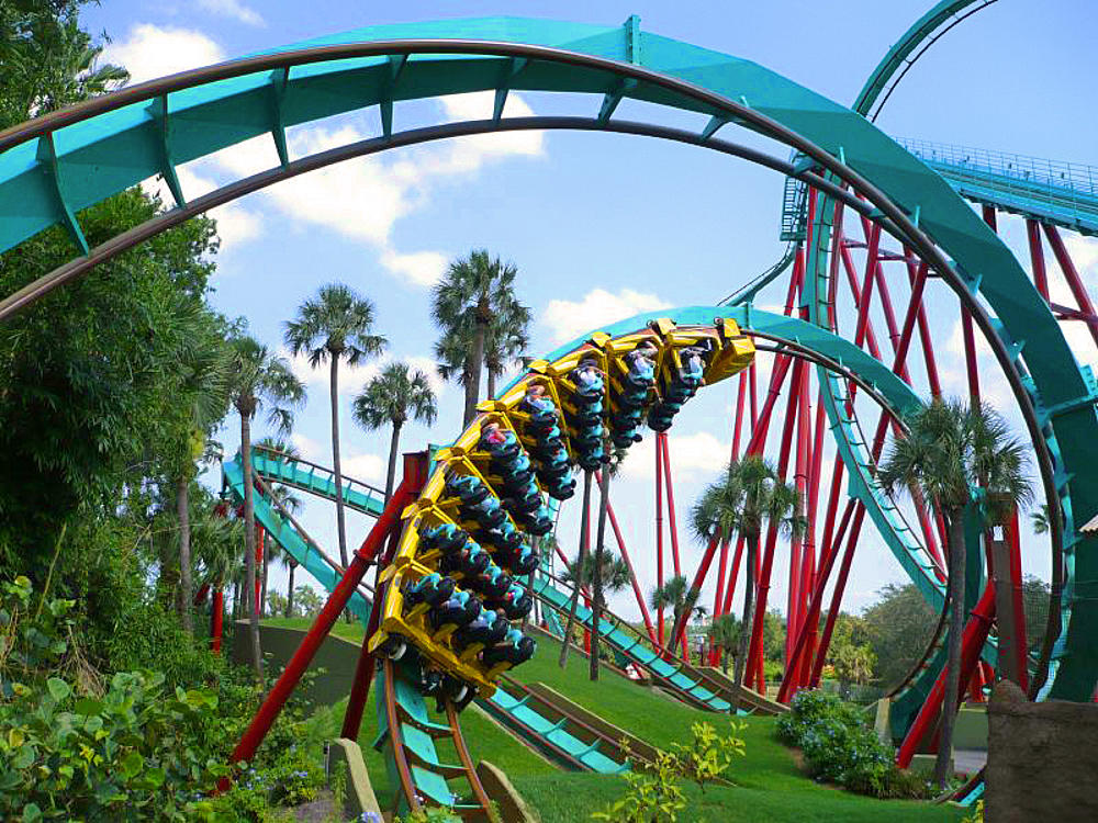 Side street style summer with the kids holidays in orlando - Roller coasters at busch gardens ...