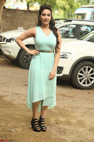 Manjusha in beautiful thin green gown At Jaya Janaki Nayaka le Logo Launch ~  Exclusive 138.JPG