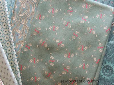 Kim Diehl fabrics pink swirl